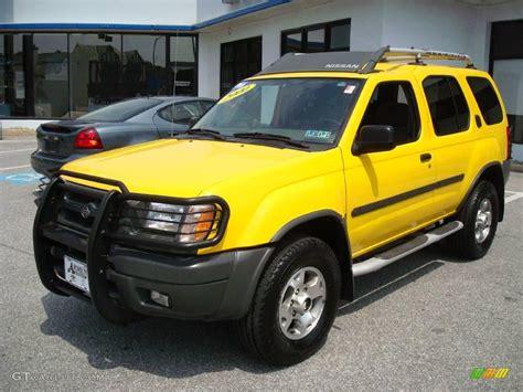 nissan yellow 2000 solar yellow nissan xterra se v6 4x4 11771071