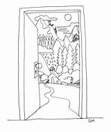 Refugee Drawings Drawing Visit sketch template