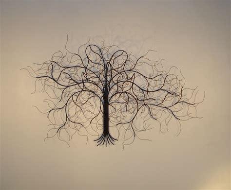 tree wall sculpture metal wall and wall decor trees gurtan designs 2929