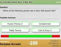 ultimate gamer quiz xbox  word games