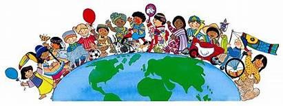 Children Around Multicultural Decomo Kristine Mrs Welcome