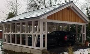 Fachwerk Carports Holzgaragen Als Individueller Bausatz