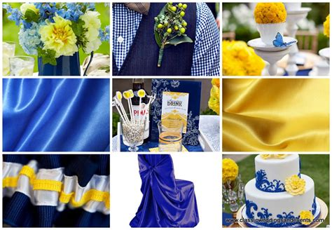 wedding decoration with royal blue and yellow peacock blue chair yellow and royal blue wedding