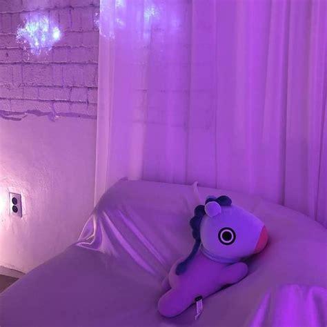 pin   bts purple aesthetic girls room wallpaper