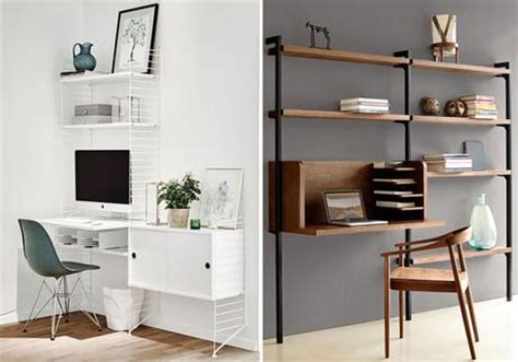 bureau biblioth ue int r bibliotheque avec bureau integre maison design modanes com