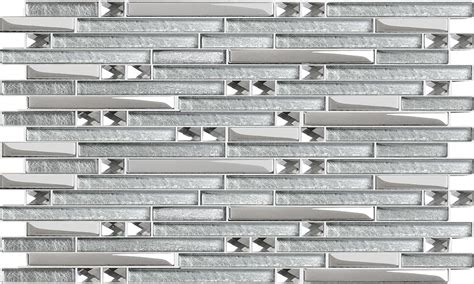 grey and white bedroom design glass mosaic tile