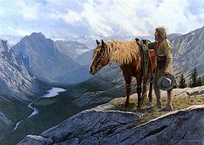 American West Wallpapers Background Wild Alone Wright