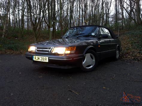 classic saab saab 900 classic convertible turbo t16 aero 1991