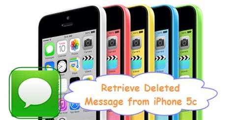 how to retrieve deleted texts on iphone 5c get back deleted text sms messages on iphone 5c