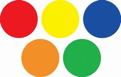 Circle Clipart Colors Transparent Pinclipart