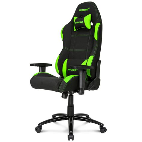 siege de gamer akracing gaming chair vert siège pc akracing sur ldlc com