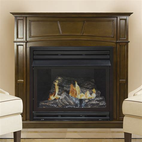 Pleasant Hearth 46in. LP Full Size Heritage VF Fireplace