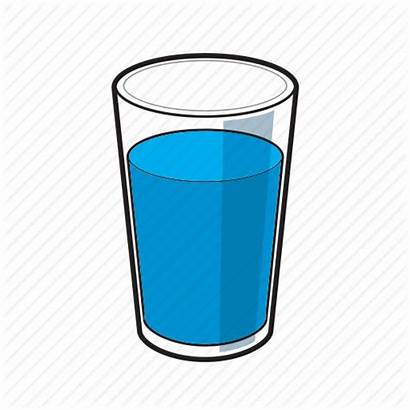 Glass Water Icon Clipart Cartoon Transparent Icons