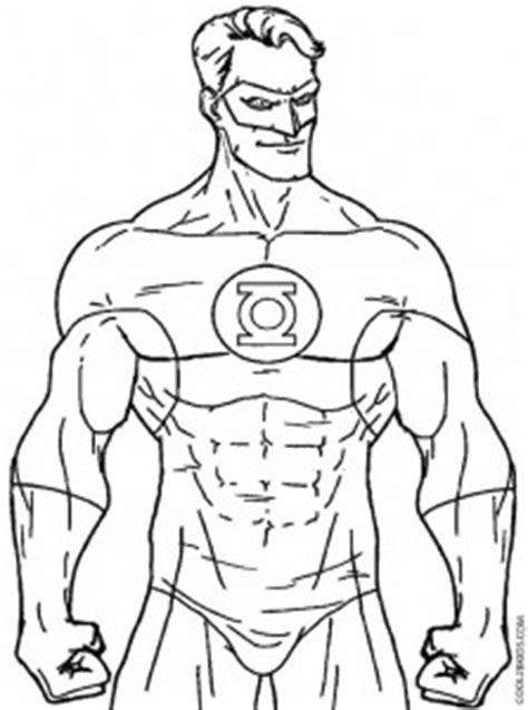 printable green lantern coloring pages  kids coolbkids