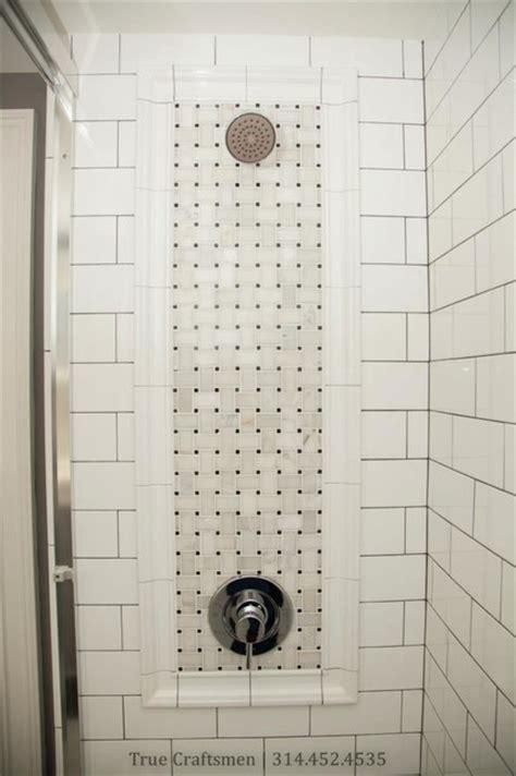 Retro Bathroom Hexagon Floor with Marble Basketweave