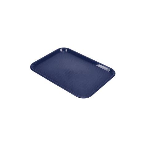 genware fast food tray blue medium tableware food