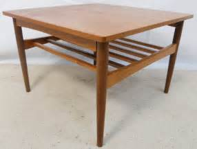 Same day delivery 7 days a week £3.95, or fast store collection. 1960 s Teak Square Coffee Table