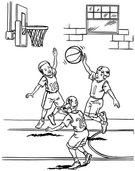basketball coloring pages  kids nba coloring pages