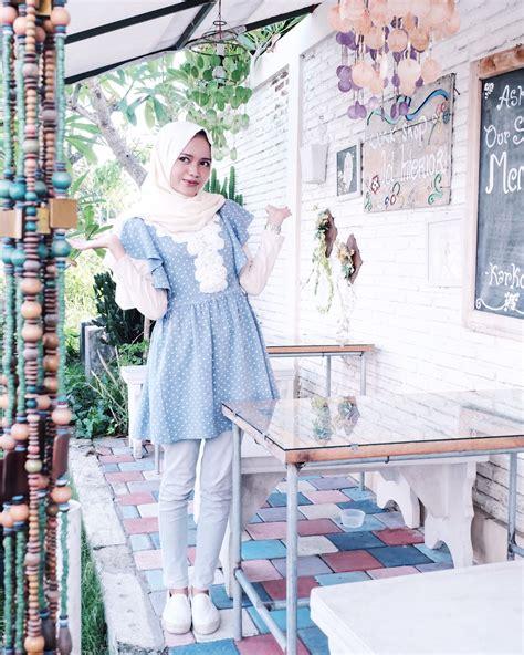 style hijab  rok pendek tutorial hijab terbaru