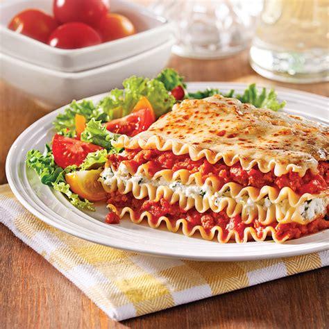 recette lasagne maison italienne lasagne aux saucisses et ricotta soupers de semaine recettes 5 15 recettes express 5 15