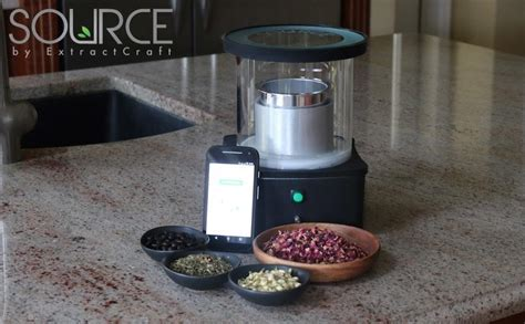 Essential oil extractor meets bluetooth: There?s an app