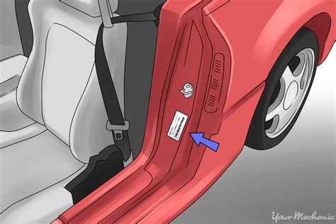 car door jamb how to check for water damage in a car yourmechanic advice