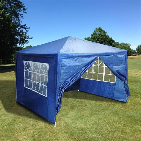 outdoor party wedding tent patio canopy  side walls color opt ebay