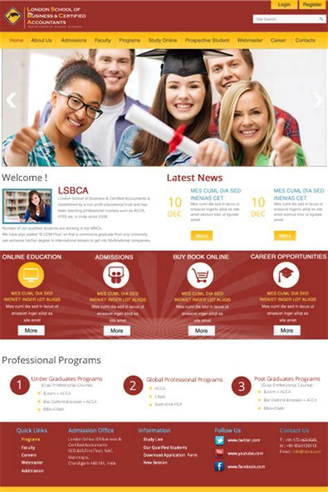 school website  wordpress template  templates