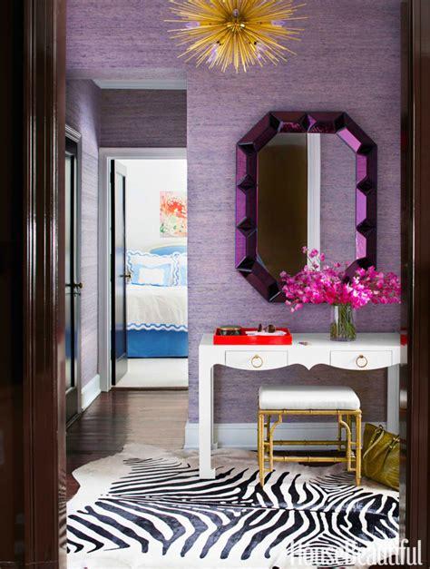 glamorously decorated home entrances