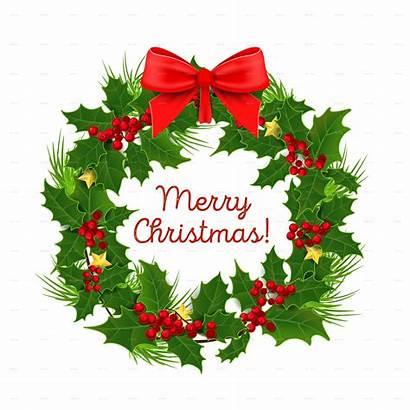 Merry Christmas Decoration Decorations Garland Transparent Wreath