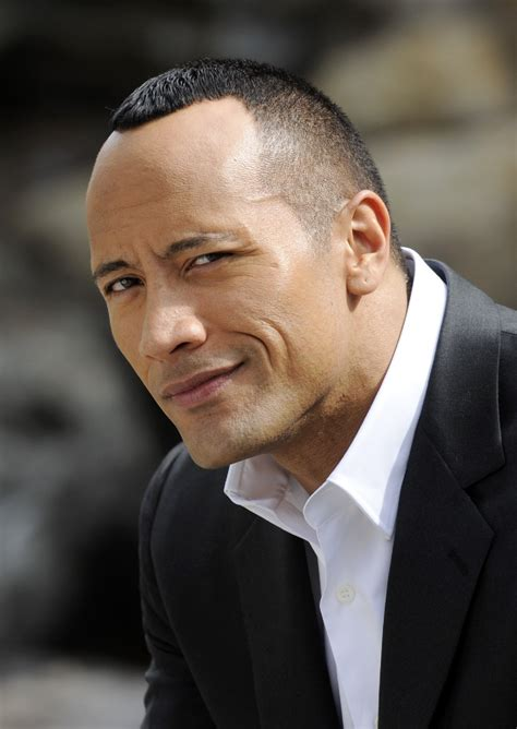 dwayne  rock johnson hairstyle men hairstyles men