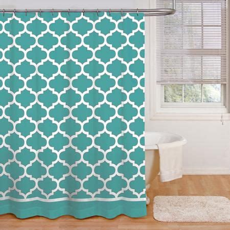 Teal Chevron Curtains Walmart by 25 Best Ideas About Teal Shower Curtains On