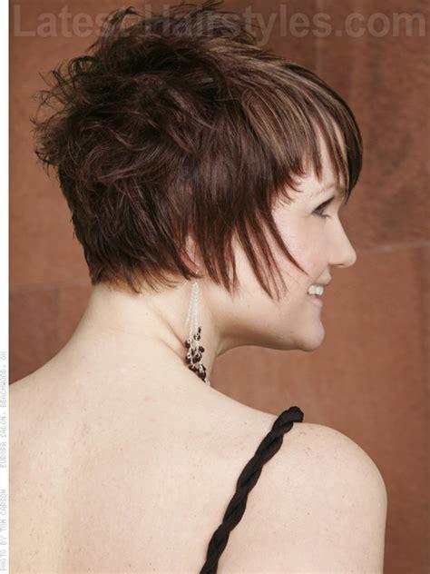 short choppy pixie haircut