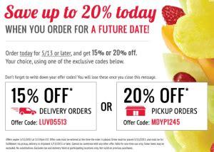 fruit gift basket edible arrangements coupons bed bath and beyond insider
