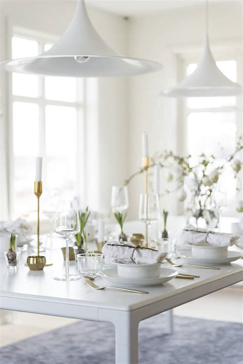 Style Modern Setting by Scandinavian Table Settings We Nonagon Style