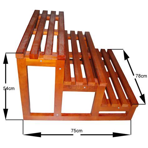 escalier 3 marches en bois pour spa de nage boospa