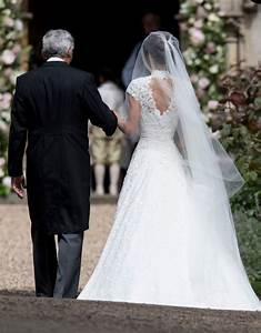 here39s how you can get a lace wedding dress like pippa With pippa middleton s wedding dress
