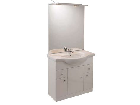cuisine rangement bain bloc l 80 cm salle de bain turin coloris blanc vente de meuble et rangement conforama