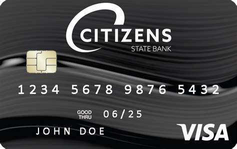 Hsbc offers various credit cards to suit your needs. Visa Debit/Credit Cards   Citizens State Bank