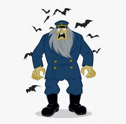 Scooby Doo Lighthouse Keeper Villains Draw Clipart