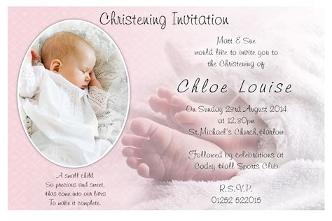 baptism card template baptism invitations free baptism invitation template