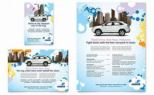 laundry flyers templates - car wash flyer ad template design