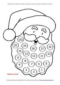 Kleurplaat Kerstman Gezicht by Kerstman Werkboek Met Werkbladen Schoolgoochelaar