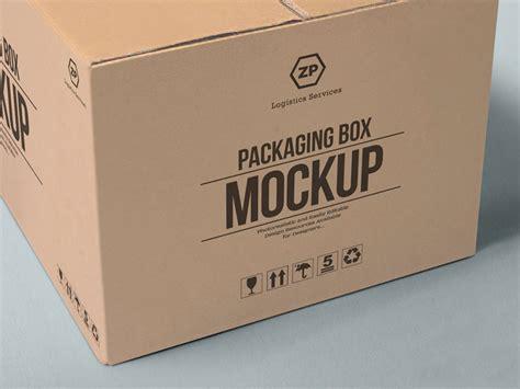 packaging box mockup mockupsq