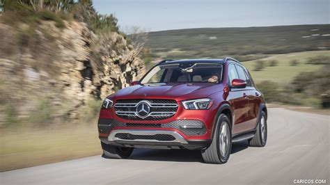 It's the latest in a driven: 2020 Mercedes-Benz GLE 450 4MATIC (Color: Designo Hyazinth Red Metallic; US-Spec) - Front   HD ...