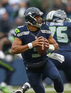 Russell Wilson Photos Photos - New York Jets v Seattle ...