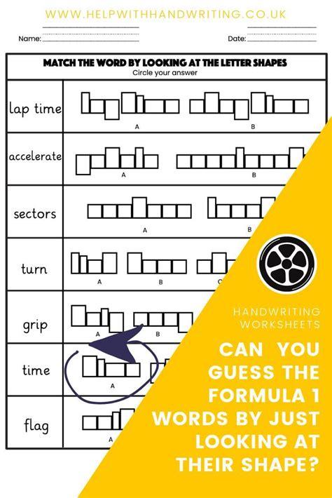formula  themed letter size worksheets  images