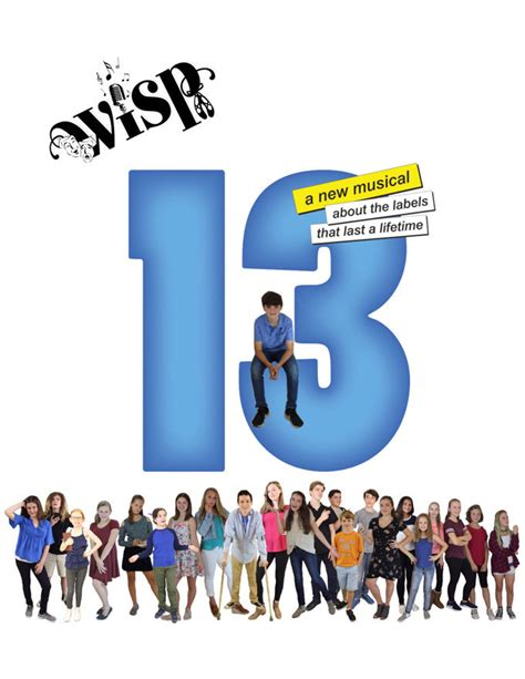 WISP Presents 13 The Musical in Connecticut at Deep River ...