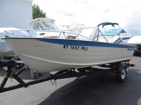 Used Aluminum Boats For Sale Ontario by Used Starcraft Aluminum Fish Boats For Sale Boats