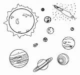 Space Coloring Print Pages sketch template